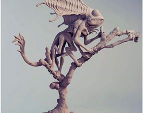 3D print model Doxy creature from Fantastic Beasts and 3