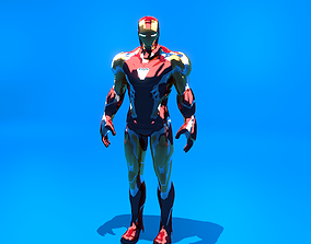 Iron Man Mark 85 - v2 3D rigged
