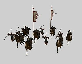 3D Ancient soldiers