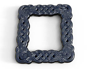 Celtic style picture frame 3D model