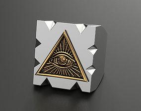 Ring radiant delta 3D printable model