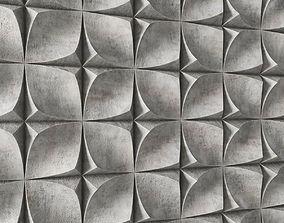 Panel decor Stone Wave 3D