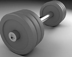 3D model Dumbbell Gym Equipment FREE