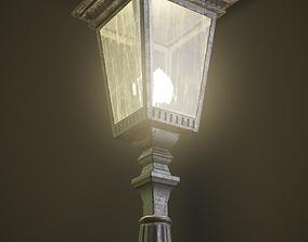 3D asset PBR Street Lamp