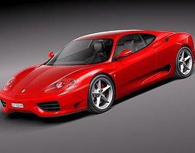 sport Ferrari 360 Modena 3D
