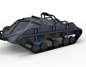 Diecast model Tracked vehicle Pickup body Scale 1 to