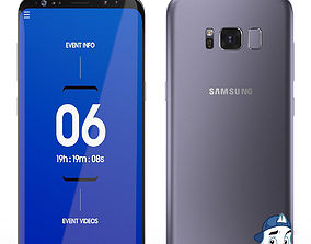 Samsung Galaxy S8 for Element 3D