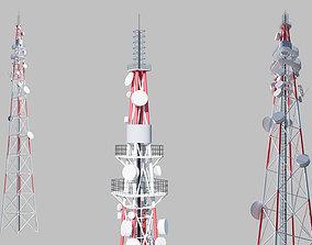 phone 3D Telecommunication Tower