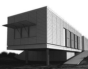 3D Modern Seaside House