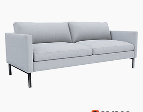 West Elm High Line Upholstered Sofa 3D model
