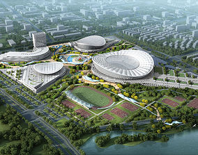 3D Sports Stadium 001