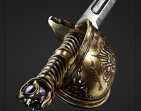 3D asset realtime Pirate Sword