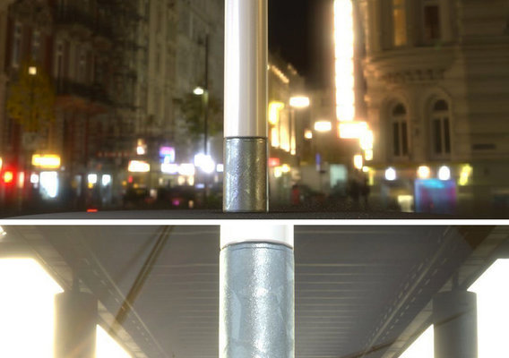 Galvanized Street Light Package 10