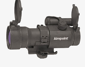 Optical Scope Aimpoint 3D model