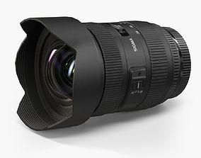 3D model Sigma 12-24mm f 4-5 5-6 II DG HSM Canon AF Lens