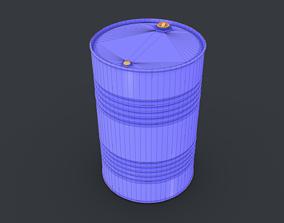 Barrel with - golden ratio 3D model