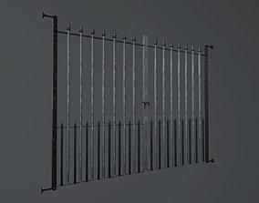 3D asset Metal Gate