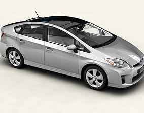 Toyota Prius 2010 low res interior 3D model