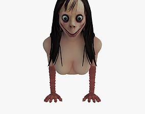 rigged Momo 3D