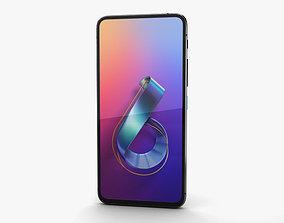 Asus Zenfone 6 2019 Midnight Black 3D model