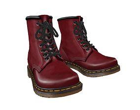 Boots Dr Martens 3D asset