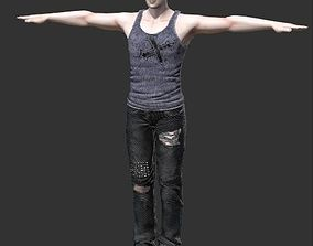 Man Character for Animated Ads 3D model