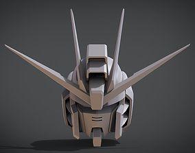 Freedom Gundam Head 3D printable model