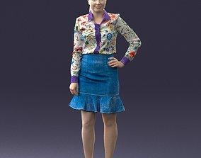 Fasion woman 1017 3D Print Ready female