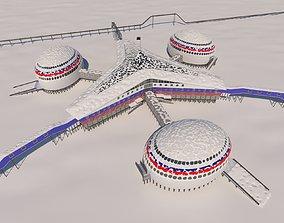 3D model Arctic shamrock