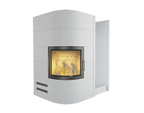 Fireplace 07 3D model