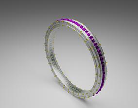 3D print model diamond engagement ring female