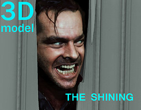 3D printable model The Shining Jack Nicholson Door Scene