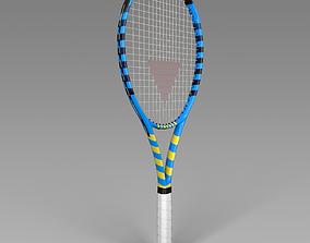 PBR Tennis Racket 3D