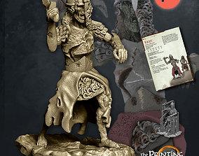 Wight Swordsman - Presupported - Modular 3D print model