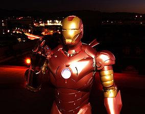Iron Man Mark 3d animated