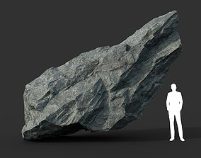 3D asset Black Rock Formation 01 191228