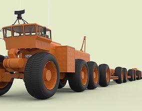 Morrow project Overland train Mark II 3D