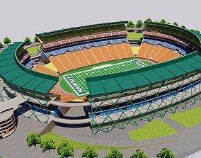 3D asset game-ready Aloha Stadium - Hawaii