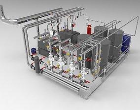 3D Industrial Boiler Room