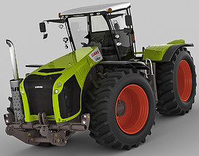 3D Claas Xerion Tractor