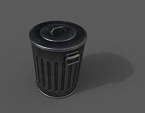 3D model realtime Trashcan