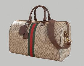 3D PBR Gucci Ophidia GG medium travel duffle bag