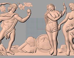 Western relief model Christianity Jesus Christ Virgin 1