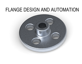 3D printable model Creo Flange Design and