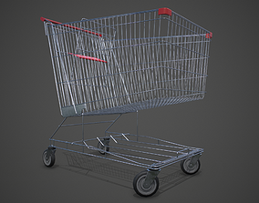 3D model Shopping Cart PBR