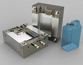 Cologne Gallon Mold machine 3D model