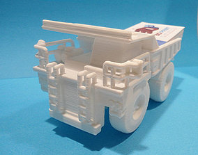 3D print model Dump truck business card holder