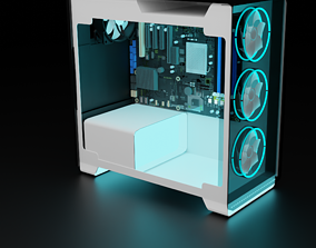 computer Gaming Pc 3D model