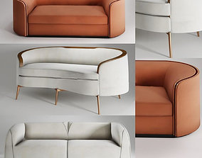 3D print model A minimalist style sofa