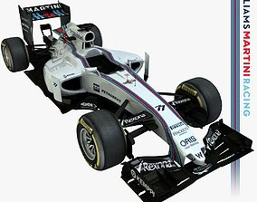 3D asset 2015 Formula 1 Williams FW37